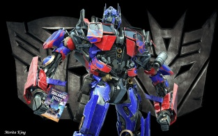 optimus prime with avalanche