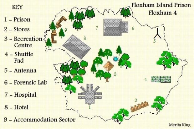 floxham island map